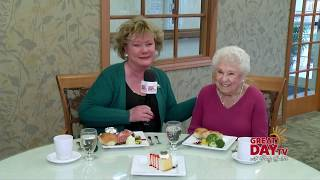 Fresh and hearty is on the menu at American Senior Communities!