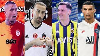 TRANSFER HABERLERİ 2020 Ft. Nainggolan, Mesut Özil, Cenk Tosun, Götze, Ronaldo, Thiago, Bale, Cisse