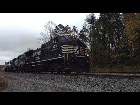 Railfanning Linwood, Spencer and Hamlet, NC