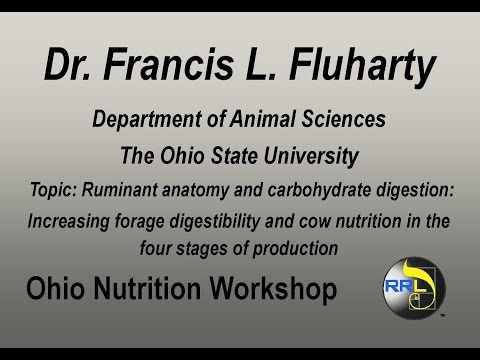 Dr. Francis L. Fluharty- Ruminant Anatomy and Carbohydrate Digestion