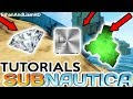 Subnautica : How to Find Diamonds, Lithium and Ion Cubes  : Tutorial