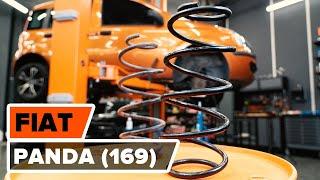 Como substituir molas de suspensão parte dianteira noFIAT PANDA (169) [TUTORIAL AUTODOC]