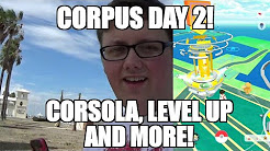 POKEMON GO IN CORPUS - LEVELING UP, OLD EGGS AND THE OTHER REGION EXCLUSIVE!