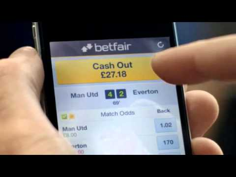 Cash out betting adverts