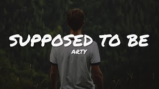 Arty Supposed To Be Lyrics Video Epic Beats