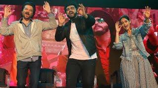 Anil Kapoor, Arjun Kapoor and Ileana D'Cruz Promote 'Mubarakan' at Wilson College