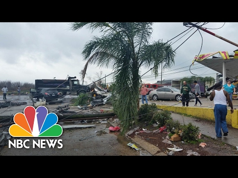 Tornado Hits New Orleans And Leaves Destruction In Its Wake | NBC News