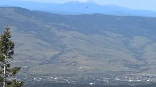 Wagner Butte in the Siskiyou Mountains above the Rogue Valley