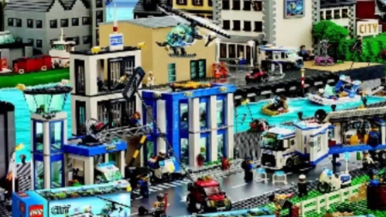 lego city 2014 police close up hd youtube. Black Bedroom Furniture Sets. Home Design Ideas