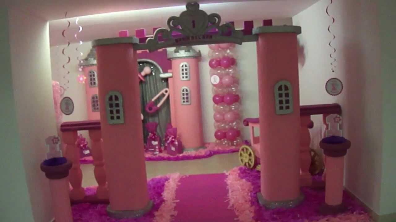 Fiesta tematica infantil princes y fiestas tematicas - Cama princesa nina ...