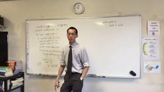 Solving 3cos(2θ) + sin(θ) = 1