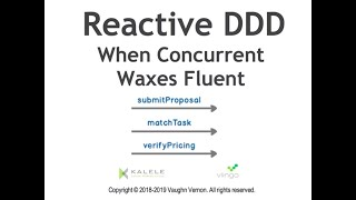 Reactive DDD—When Concurrent Waxes Fluent - Vaughn Vernon