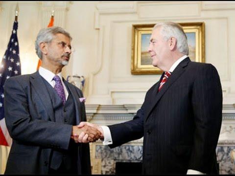 S Jaishankar meets US Secretary of State Rex Tillerson