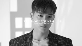 "Jun. K (From 2PM) Online Live  ""THIS IS NOT A SPECIAL LIVE"" Teaser"