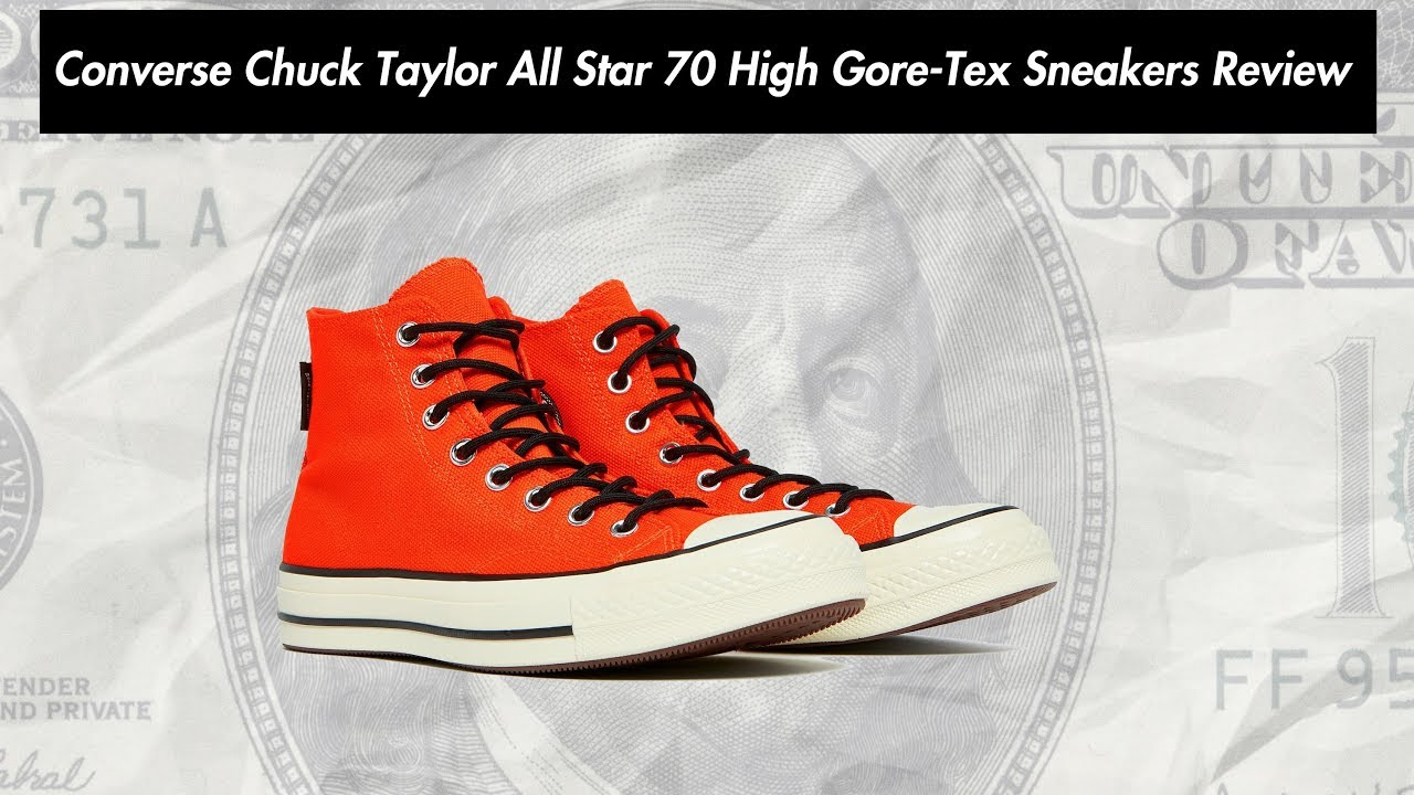 Converse Chuck Taylor All Star 70 High Gore Tex Sneakers