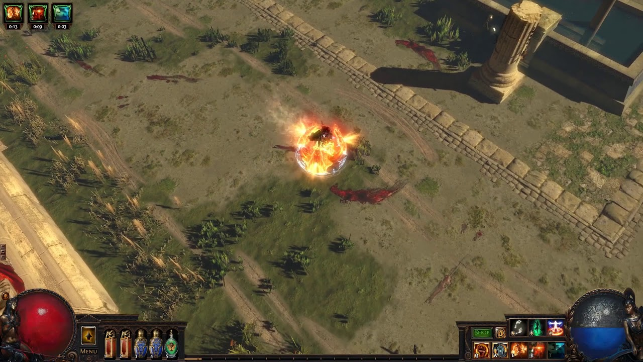 path of exile instant casting youtube