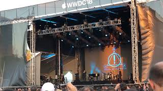 "WWDC18 Bash Panic at the disco ""High Hopes"""