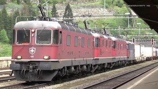 Video Bahnland Schweiz: Gotthardbahn/Ferrovia del Gottardo Nordrampe im Juli 2014 - Göschenen download MP3, 3GP, MP4, WEBM, AVI, FLV Juli 2018