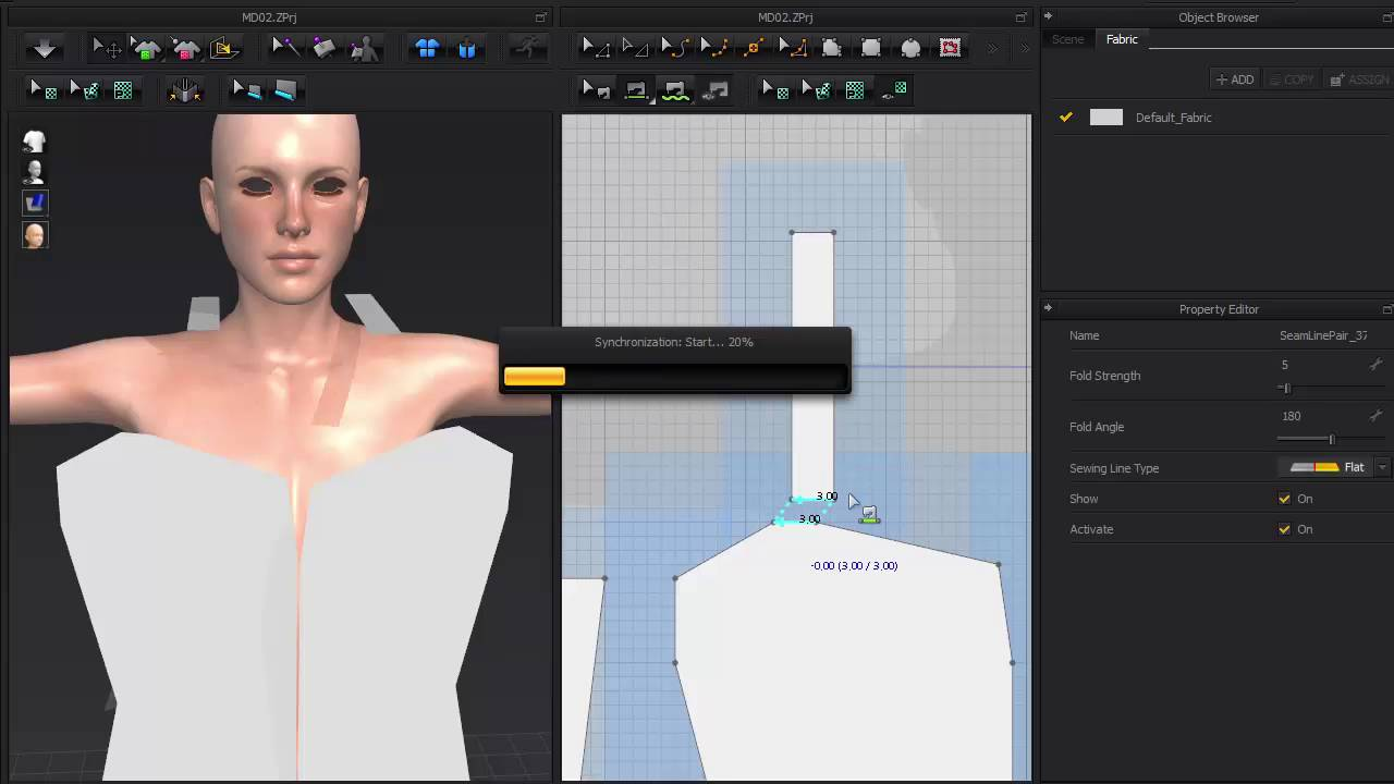 Cloth Designer | Step 1 Iclone Tutorial Cloth Design With Marvelous Designer