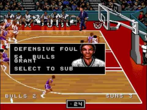 NBA Showdown (SNES): Chicago Bulls Playoff Run (1993 NBA Finals: vs. Phoenix Suns)