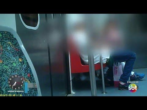 Usuários de drogas e traficantes viajam com passageiros em trens de SP | Primeiro Impacto (04/09/18)