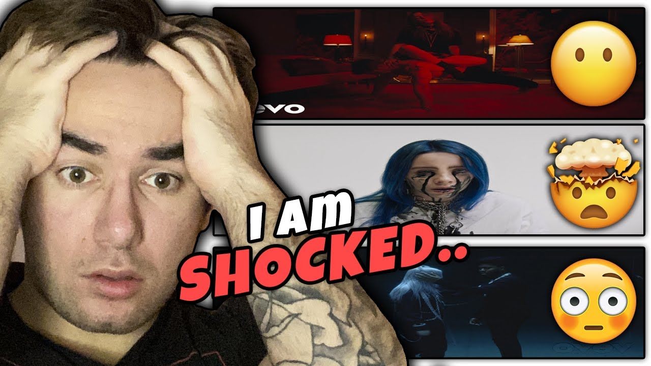 Rapper Reacts to BILLIE EILISH for THE FIRST TIME EVER