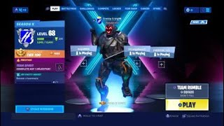 Unlocking NEW Secret skin FORTNITE Season X Gameplay