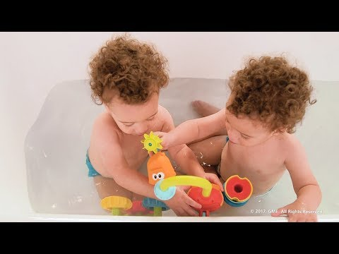 Yookidoo Spin 'N' Sort Spout Pro. Real Kids. Real Tubs. Real Fun!