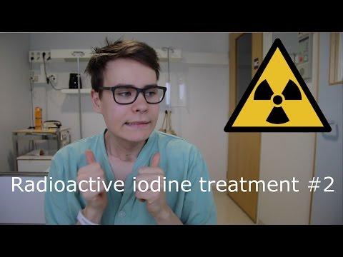 Isolated for 3 days  Radioactive iodine treatment 9
