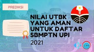 Nilai UTBK yang Aman untuk Daftar SBMPTN UPI 2021