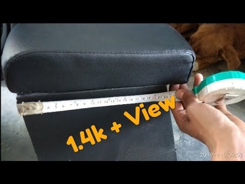 Armrest for swift or any car 2019 Totally Make Wooden(Technical Ramgaria)