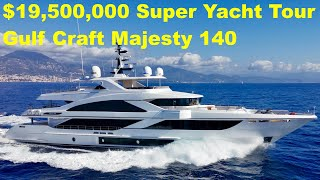 Download $19,500,000 Super Yacht Tour : Gulf Craft Majesty 140 Mp3 and Videos