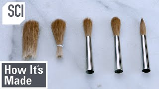How It's Made: Artist Paint Brushes