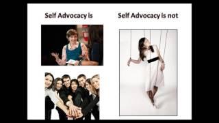 Self Advocacy Module 1