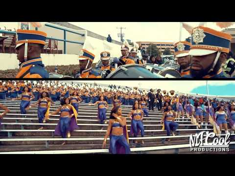 Marching In - Alcorn State Marching Band And Golden Girls 2019 | Vs JSU [4K]