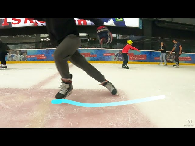 Hockey Skating   How to boost you start forward