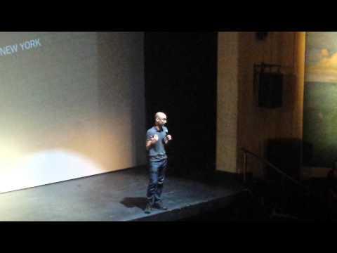 Junot Diaz speaks on Yunior