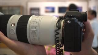 """デジタル一眼カメラ""""α9""""の電子シャッターの高速連写のふるまいをチェック。"""