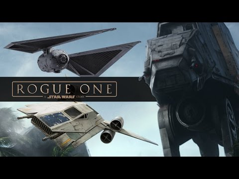Every New Ship and Vehicle from Rogue One: A Star Wars Story