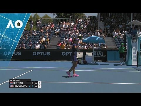 Bertens v Lepchenko match highlights (1R) | Australian Open 2017