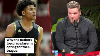 Pat McAfee Reacts To Jalen Green skipping NCAA For NBA G League