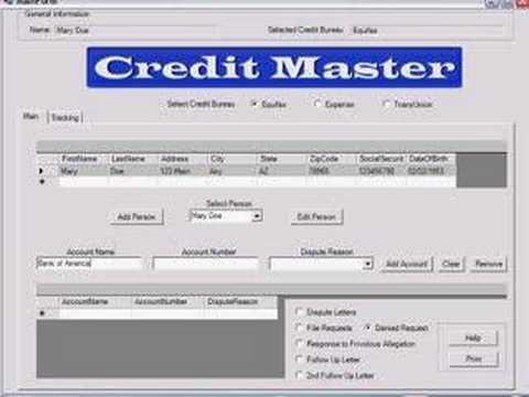 Credit Repair Software that's FREE!