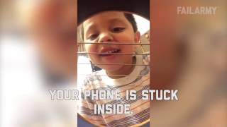 Funny Kids Video - Funniest Baby Fails - Try not to grin or laugh 99.97% fail! - Funny Video