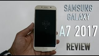 Samsung Galaxy A7 2017 (Gold) Review : Camera, Software, Build, Fingerprint, Samsung pay features