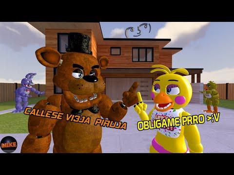 🔴Gran Locura de Freddy y Toy Chica Animación-Simplemente MIKE