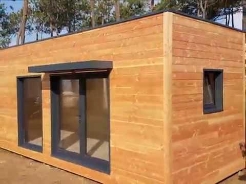 R alisation d 39 un studio sans permis de construire en corse for Maison bois sans permis de construire