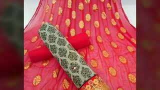 Trandy beautiful suits for girls // cotton suits