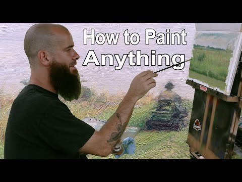 How to Paint Anything, the Thinking Behind the Artist. Cesar Santos vlog 104