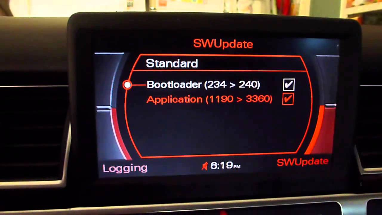 Update MMI Software From 1190 To 3360 On 2006 Audi A8