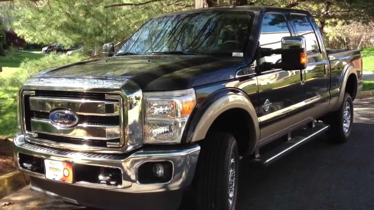 2012 ford f 350 diesel review walk around start up rev test drive youtube [ 1280 x 720 Pixel ]